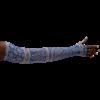 LympheDivas Blue Bandit Compression Arm Sleeve And Gauntlet