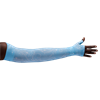 LympheDivas Firefly Blue Compression Arm Sleeve And Gauntlet