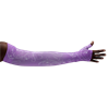 LympheDivas Firefly Purple Compression Arm Sleeve And Gauntlet