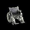 Nova Medical Standard Manual Steel Wheelchair With Dual Cross Bar