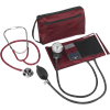 Dual Head Stethoscope Combination Kit (Burgundy)