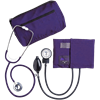 Dual Head Stethoscope Combination Kit (Purple)