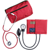 Dual Head Stethoscope Combination Kit (Red)
