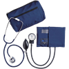 Dual Head Stethoscope Combination Kit (Navy Blue)