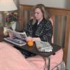 Mabis DMI Deluxe Heavy-Duty Over Bed Tilt-Top Table