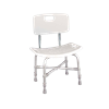 Drive Deluxe Bariatric Shower Chair with Cross-Frame Brace