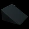 Large Foam Wedge Pillow (Black)