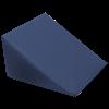 Large Foam Wedge Pillow (Dark Blue)