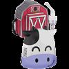 Mabis DMI HealthSmart Kids Margo Moo Steam Inhaler