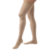 BSN Jobst Thigh High 30-40mmHg Extra Firm Compression Stockings with Silicone Band in Petite