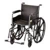 Nova Medical Steel Wheelchair With Fixed Arms
