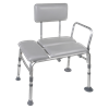Drive Knock Down Padded Transfer Bench
