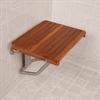 Teakworks4u ADA Compliant Wall Mount Plantation Teak Shower Seat