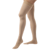 BSN Jobst Large Opaque Closed Toe Thigh High 15-20mmHg Compression Stockings with Silicone Band