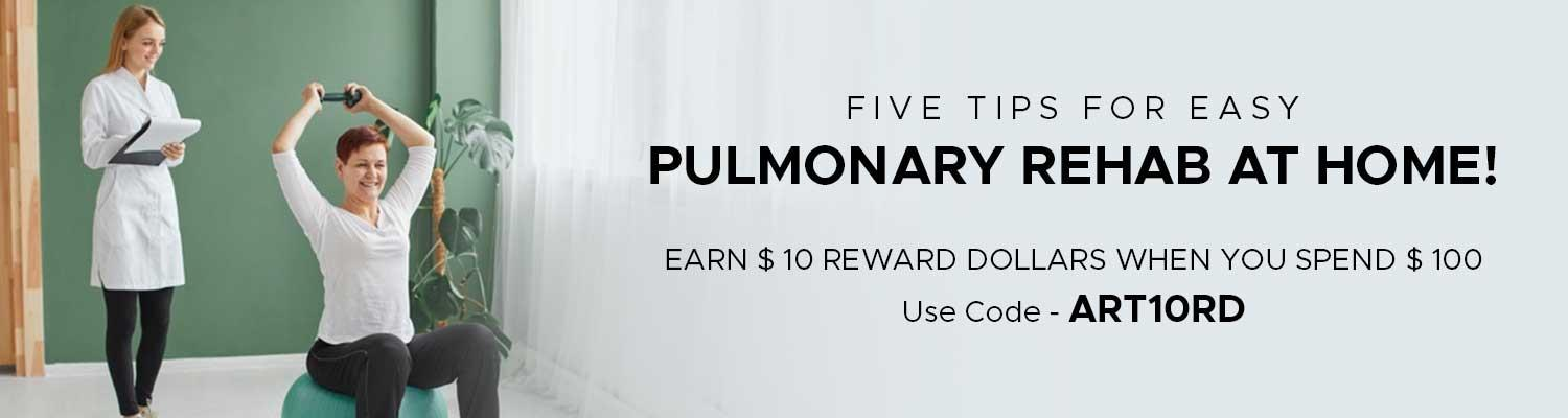 Five Tips for Easy Pulmonary Rehab at Home!