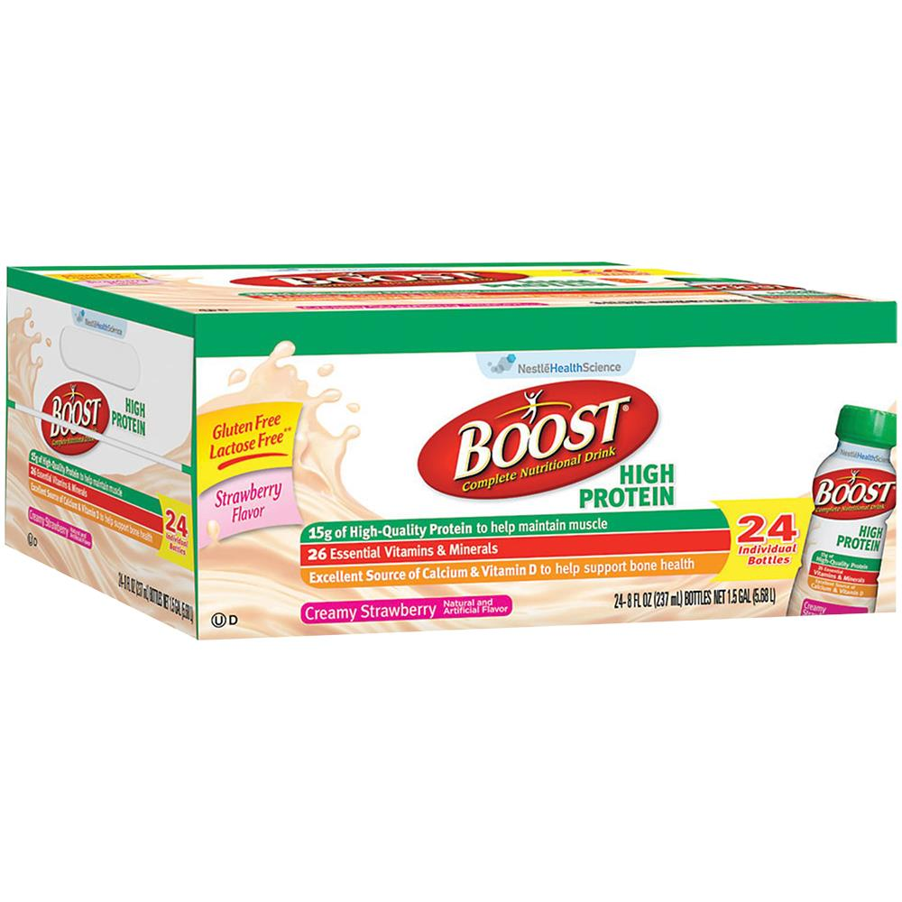 Boost High Protein Nutritional Energy Drink Strawberry 6: Nestle Boost Original Nutritional Drink