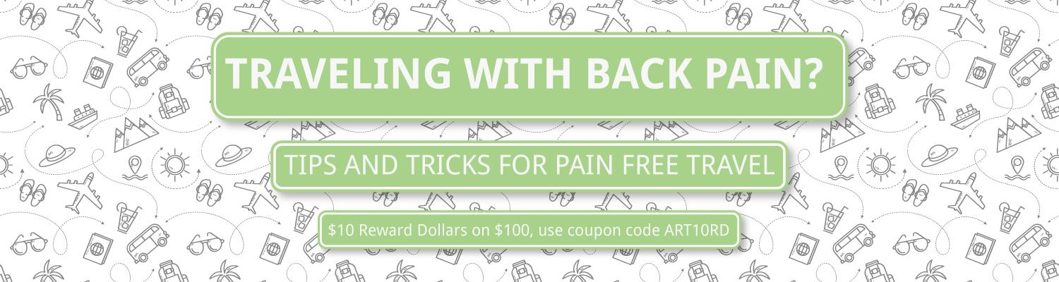 Traveling with Back Pain? Tips and Tricks for Pain Free Travel