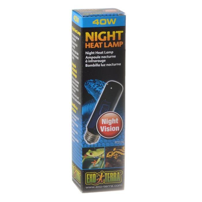 Exo Terra Night Heat Lamp Reptile