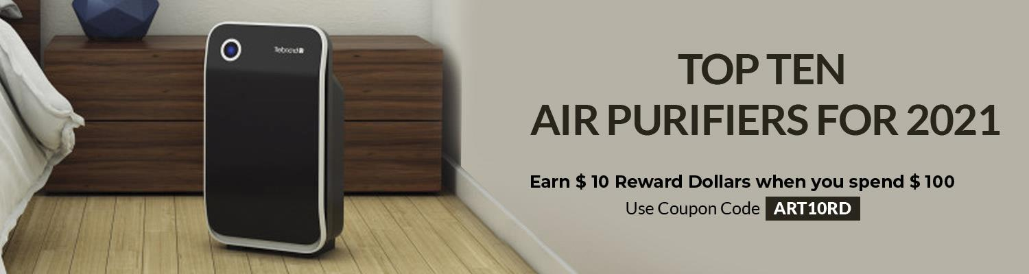 Top Ten Air Purifiers For 2021