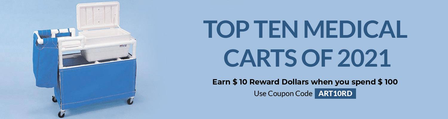 Top Ten Medical Carts of 2021
