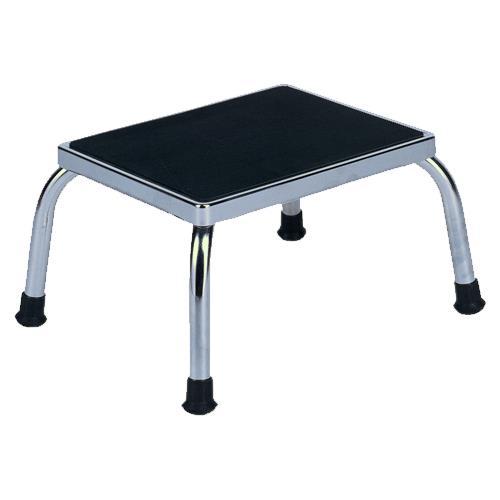 Winco Chrome Steel Footstool Treatment Stool