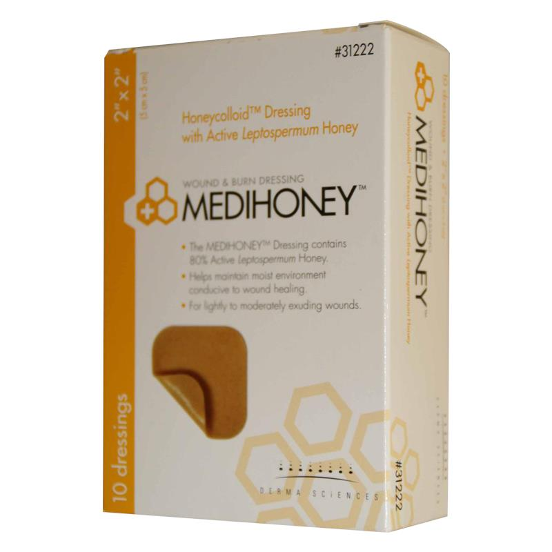 P Derma Medihoney Non Adhesive Honeycolloid Dressing on types of knee injuries