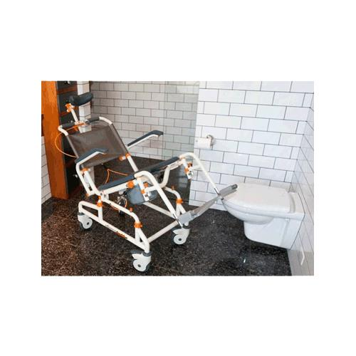 ShowerBuddy Roll In Shower Chair With Tilt Shower Chairs Stools