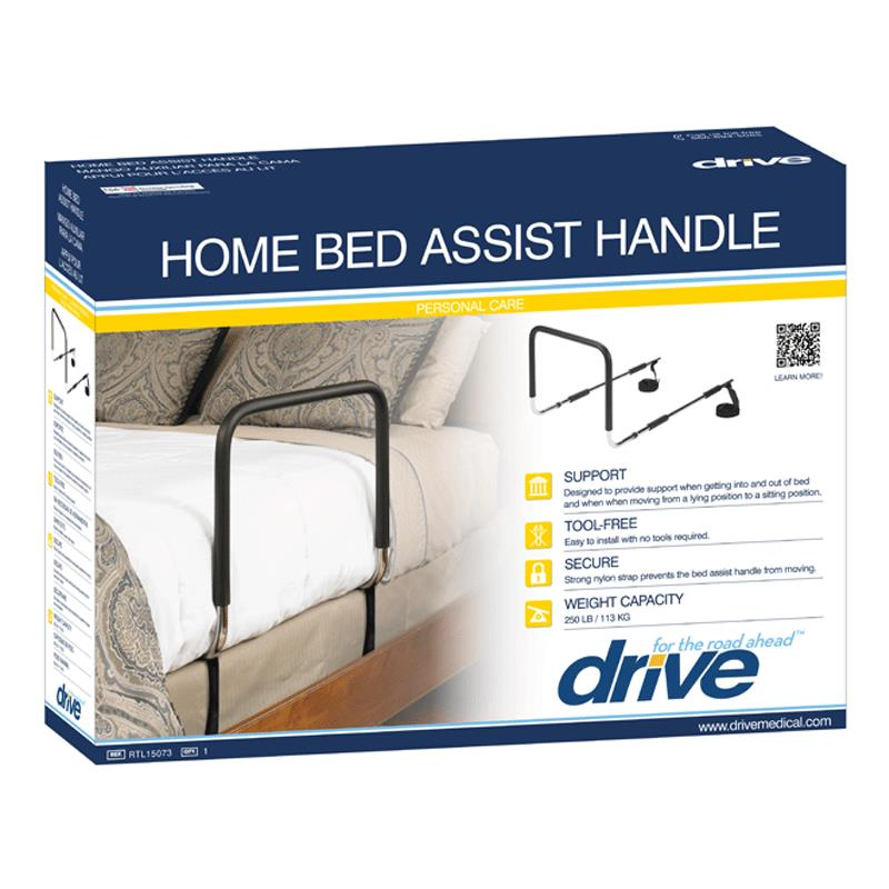 Drive Adjustable Home Bed Assist Handle Side Rail