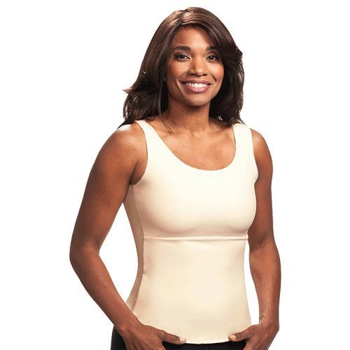 3a99bfda20 ... Wear Ease Compression Camisole - Beige Color
