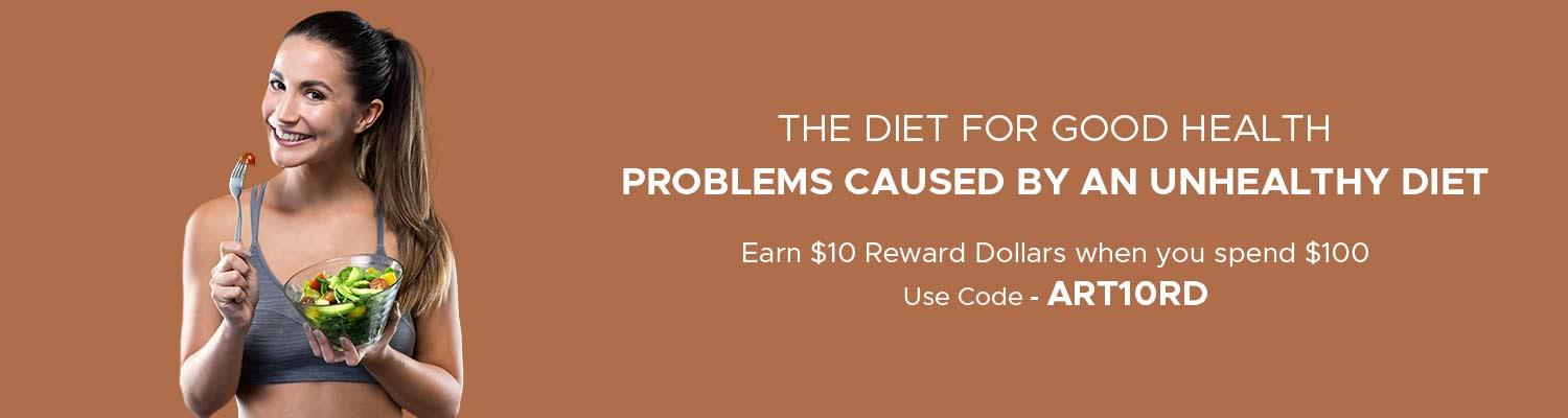 All About Unhealthy Eating - Problems Caused By an Improper Diet
