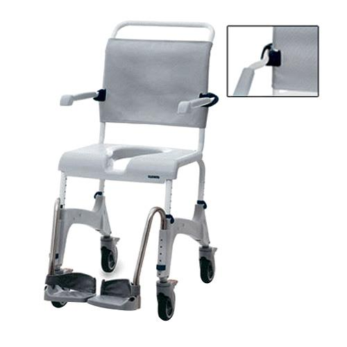 Clarke Aquatec Ocean XL Shower Commode Chair with Wide Back | Shower ...