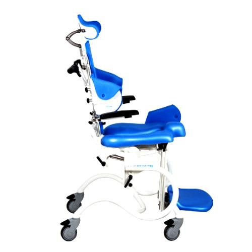 Clarke Starfish Pro Manual Shower And Commode Chair For Children With Whole  Seat