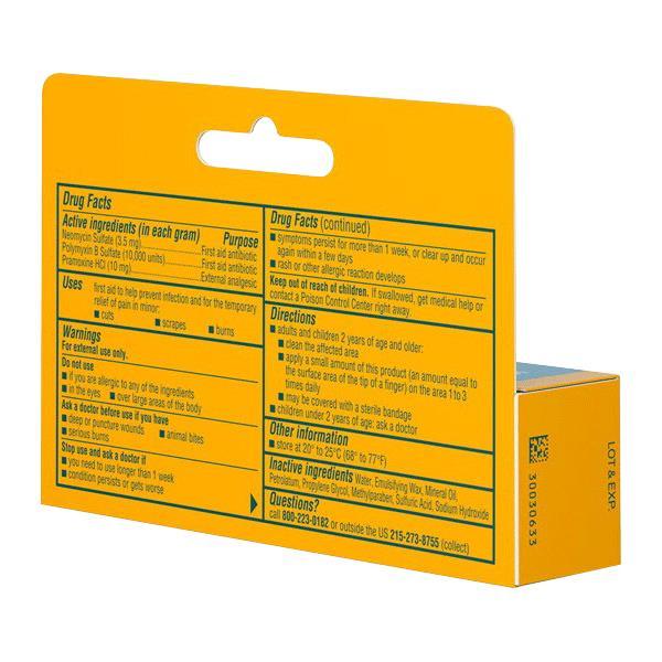 Neosporin Plus Pain Relief Antibiotic Ointment | Natural ...
