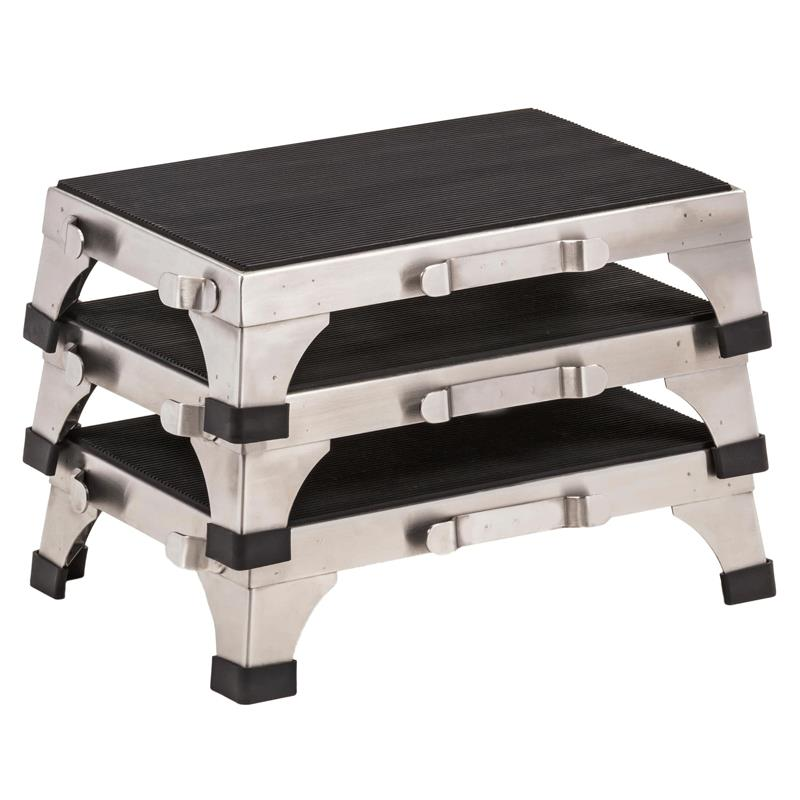 Clinton Stainless Steel Stacking Stool Medical Stools