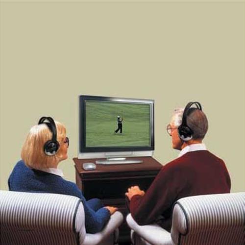 f79b187c431 Unisar TV Listener J3 Rechargeable Wireless Headset   Amplifiers