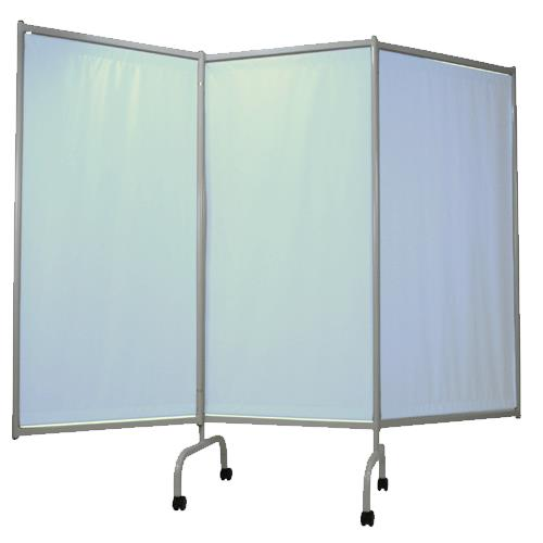 Winco 3 Panel Designer Privacy Screen Cubicle Curtains
