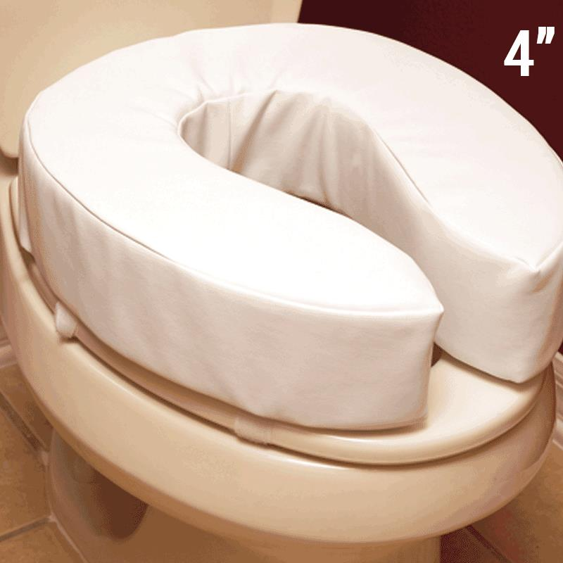 Essential Medical Padded Toilet Seat Cushion Toilet Seat