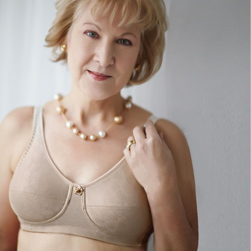 ABC Front Close Rose Contour Mastectomy Bra Style 123