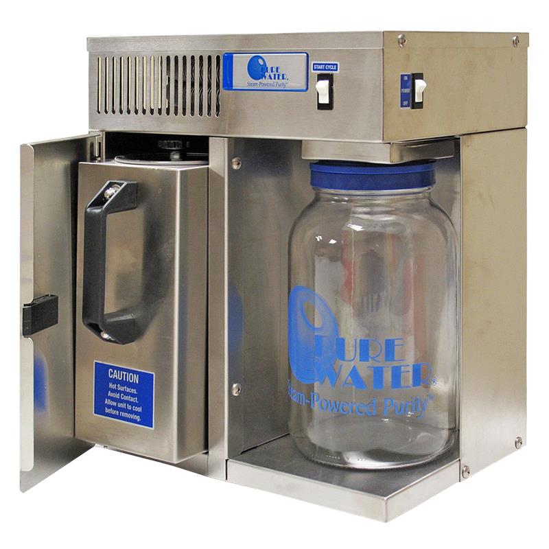 Our Water Distillers produce 999 Pure Distilled Water for homes commercial use government offices medical facilities restaurants and schools