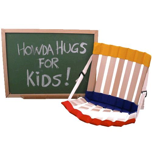 Howda Designz Howdahug1 Adjustable Children Seat Floor