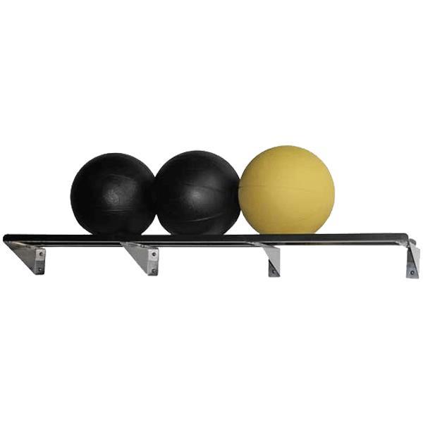 Ideal Plyometric Med Ball Wall Mount Storage Rack