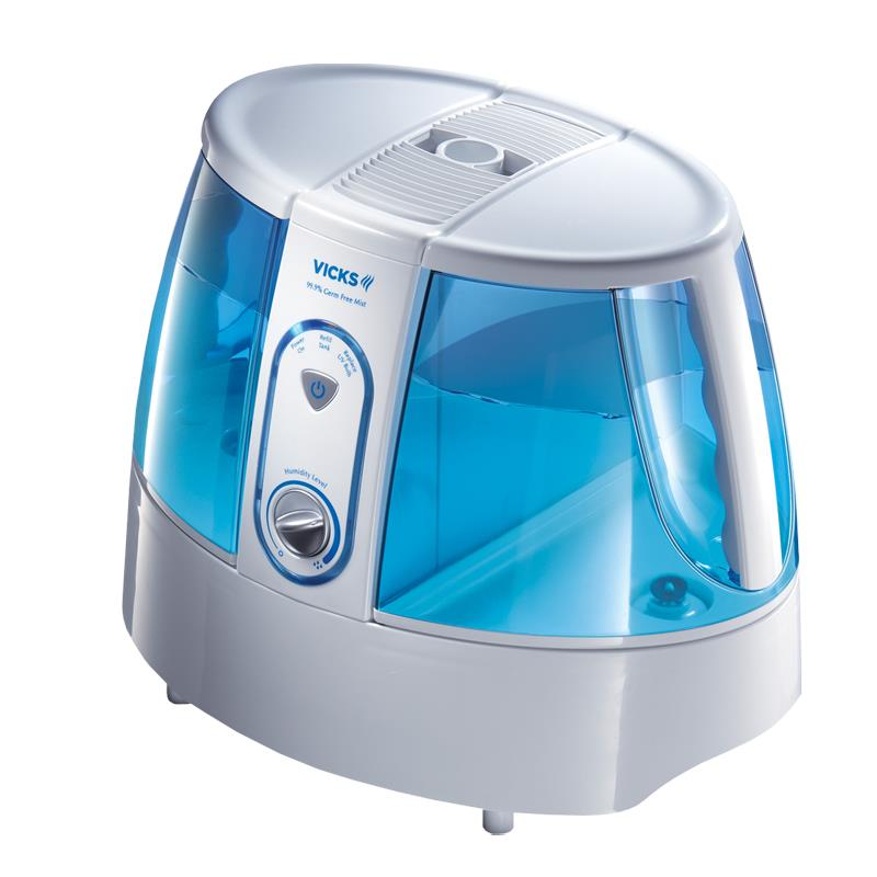 vicks cool mist humidifier how to use