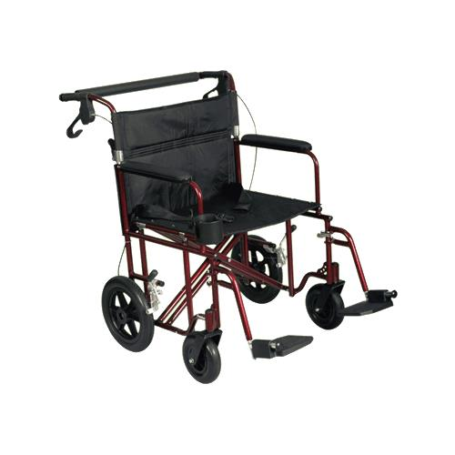 Medline Freedom Lightweight Bariatric Transport Chair