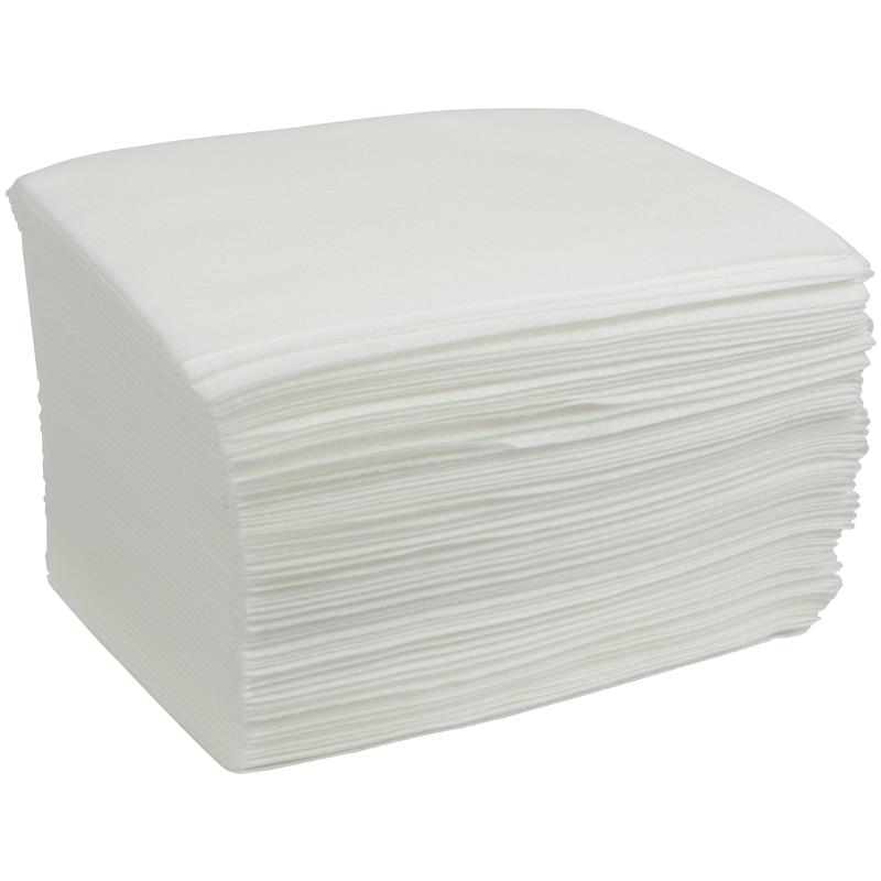 Dry Washcloths: Cardinal Health White Dry Washcloth