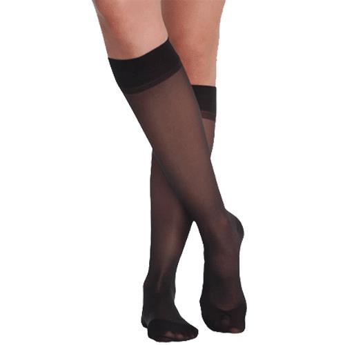 0b2fe00da8c Juzo Attractive OTC Sheer 140 Denier Knee High 15-20 mmHg Compression  Stockings