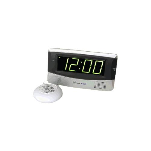 sonic boom am or fm radio and alarm clock with super. Black Bedroom Furniture Sets. Home Design Ideas