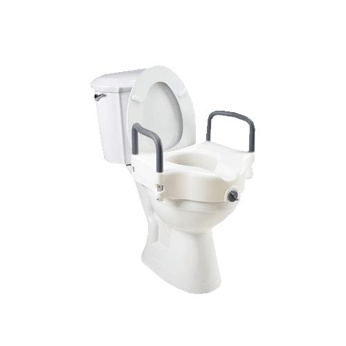 Homecraft Elevated Toilet Seat Raised Toilet Seats