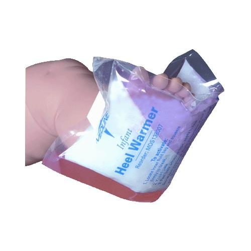 Medline Infant Heel Warmers | Heat Therapy/Hot Packs