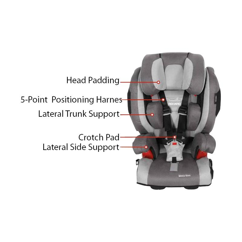 recaro booster seat instructions