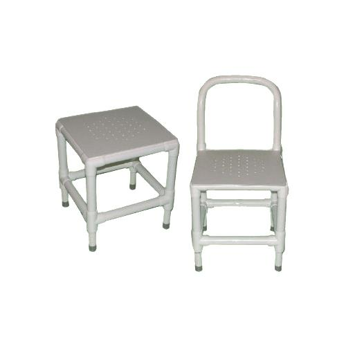 Duralife Shower And Bath Chair With Adjustable Legs And